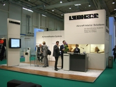 Exhibitor: Liebherr • Project: Aircraft Interiors 2010 •  Design: Meadim Fair Service GmbH DE