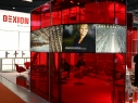 Exhibitor: Dexion • Project: Logimat  • Design: Werbung & Design Körle DE